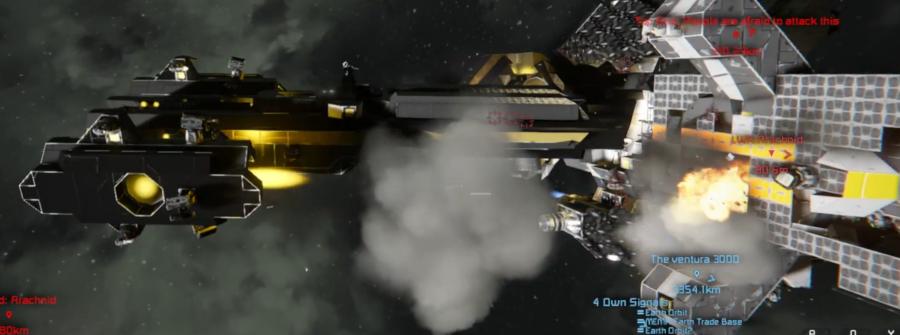 Frigate 'Tartaros' Black-box Footage